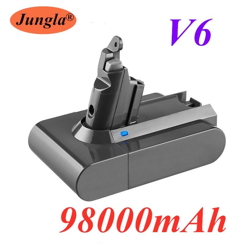 2020/ 98000mAh 21.6V 98.0Ah Li-ion Battery for Dyson V6 DC58 DC59 DC61 DC62 DC74 SV09 SV07 SV03 965874-02 Vacuum Cleaner Battery