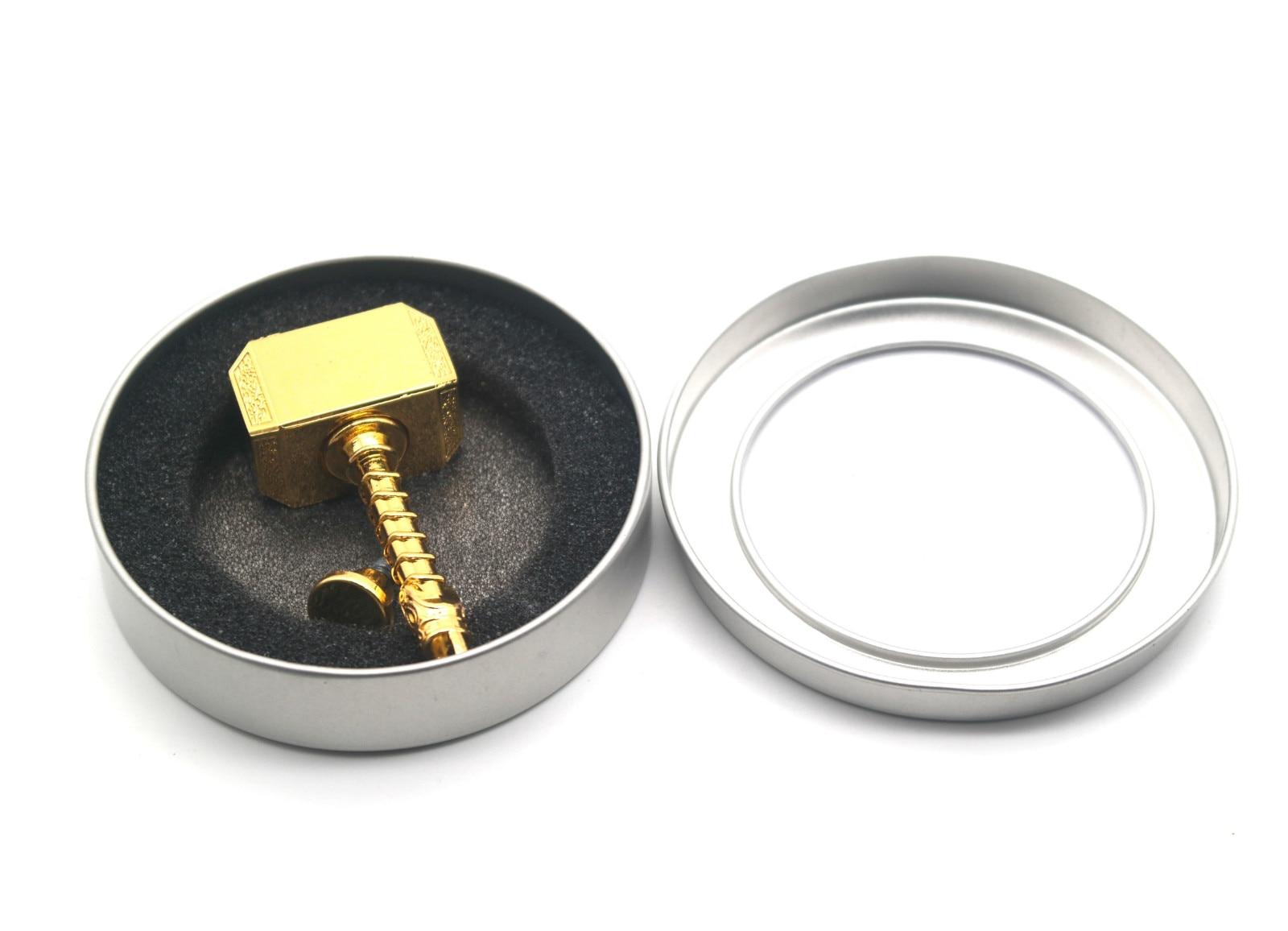 Updated Version Hammer Fidget Spinner Cool Metal Hand Spinner Portable Stress Relief Toys Gift for Children Adult enlarge