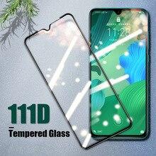 Vidrio Templado 111D para Huawei P30 Lite P20 Pro P9 P8, película de seguridad, vidrio protector para Huawei P Smart Plus 2019