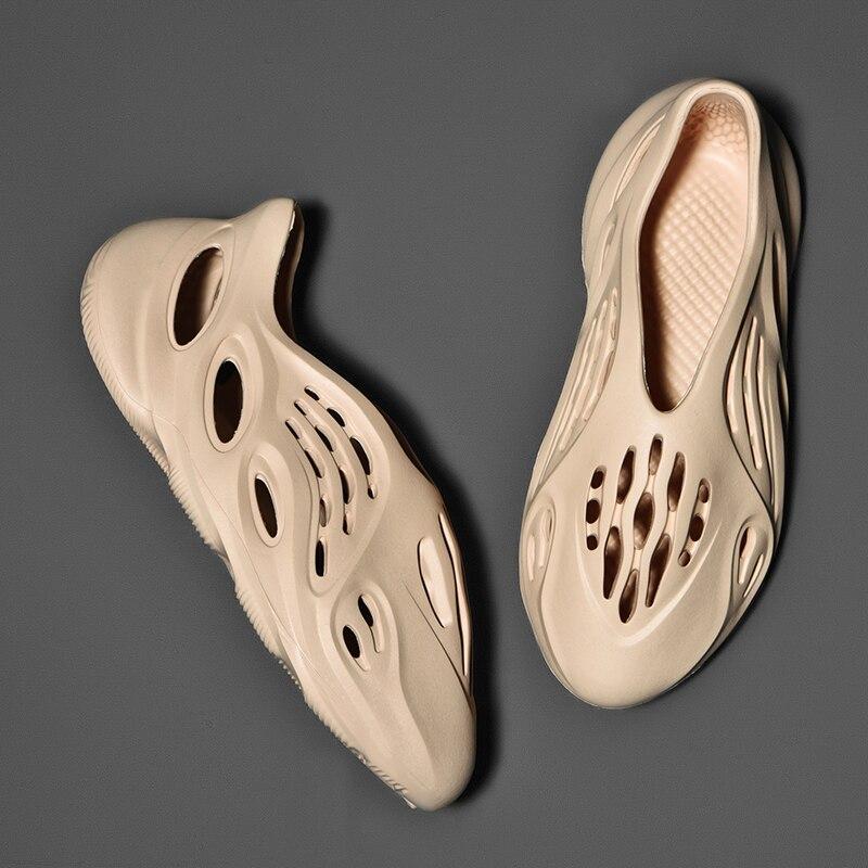 tenis sapato masculino Zapatos informales de verano para hombre, sandalias suaves de malla para parejas, zapatillas de playa, zapatillas de espuma, chanclas cómodas, Zapatillas para hombre, sandalias de natación