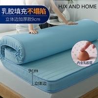 Super comfortable Multifunction mattress 9cm Single double size Sponge latex filling stereoscopic student dormitory Tatami