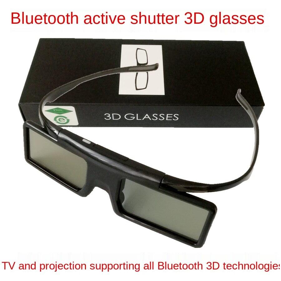 لبلوتوث BT نظارات مصراع نشط ثلاثية الأبعاد مناسبة للاستخدام على أجهزة التلفزيون مع إسقاط إبسون وتقنية بلوتوث ثلاثية الأبعاد