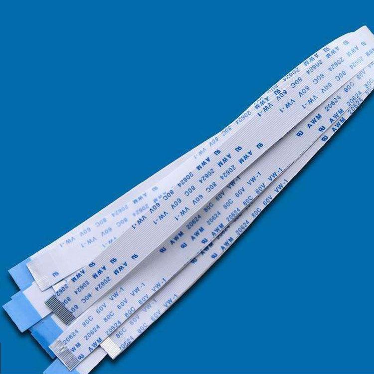 100pcs FPC Flexible Flat Cable FFC 1MM 80MM A type interface 22P 8cm