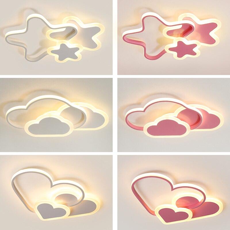 مصباح سقف LED على شكل نجمة خماسية ، تصميم إبداعي حديث ، إضاءة داخلية ، إضاءة سقف زخرفية ، مثالية لغرفة الطفل أو غرفة الدراسة.
