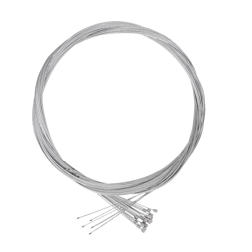 10/20 piezas línea de freno de bicicleta de alambre de acero galvanizado accesorios para ciclismo de bicicleta de carretera 1,8 M línea de Cable interior de freno de bicicleta