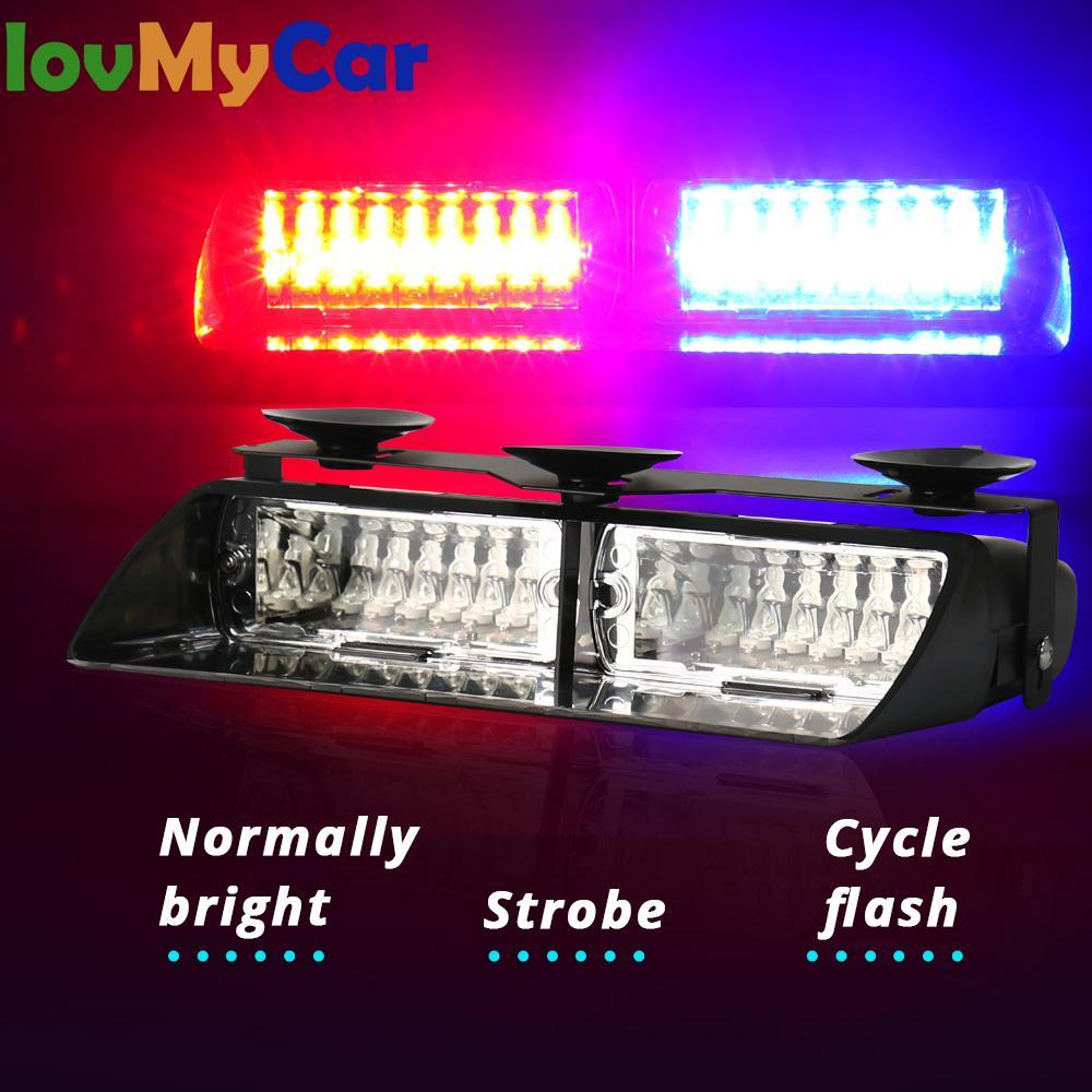 Универсальная автомобильная светодиодная лампа RGB, 16 светодиодов, стробоскопическая вспышка, автомобильная сменная лампа высокой мощности...