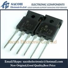 Free Shipping 10Pairs 2SA1633 2SA1633-E A1633-E A1633 + 2SC4278 2SC4278-E C4278-E C4278 TO-247 Silicon Power Transistors