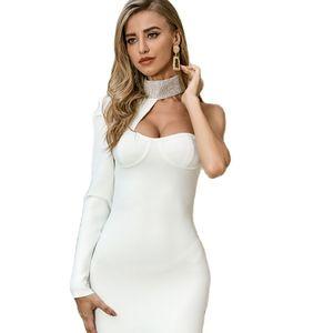 Summer Sheath Casual Dress Women Vintage Elegant Party Dress Vestidos White Bodycon Dresses Backless Dress