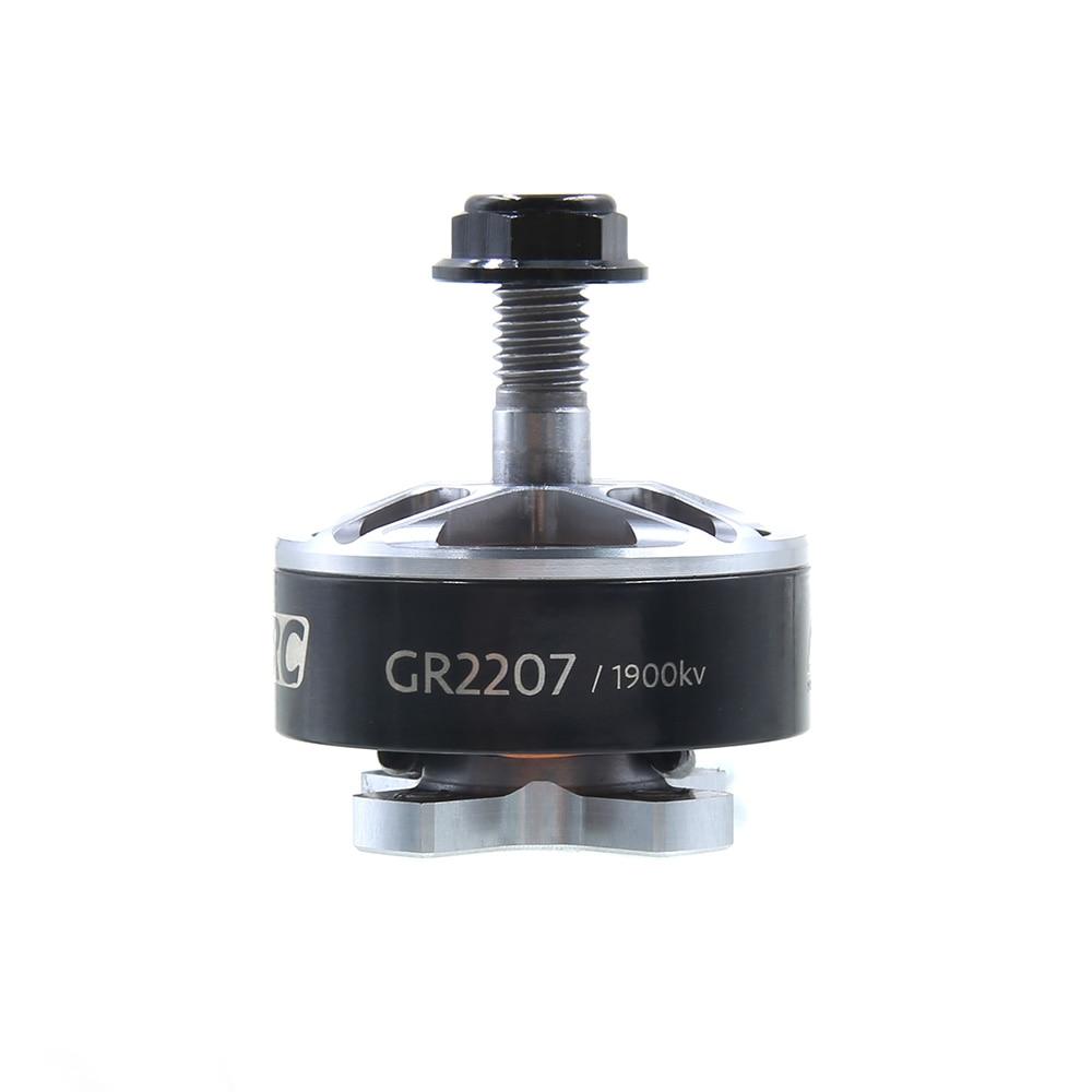 4 Uds GEPRC CONIC GR2207 1900KV/2400KV/2700KV Motor sin escobillas de alta calidad RC DIY FPV que speed de automovilismo Drone