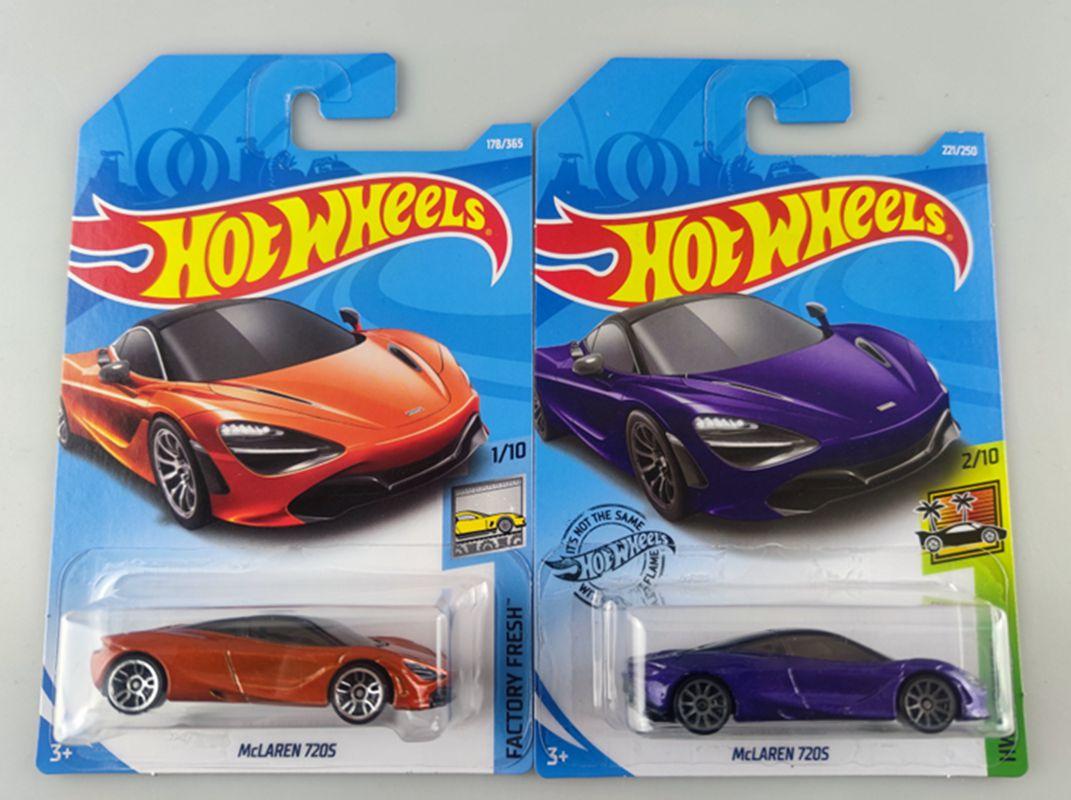 carro esportivo pequeno c4982 hot wheels brinquedo em liga metalica 9m lote mclaren