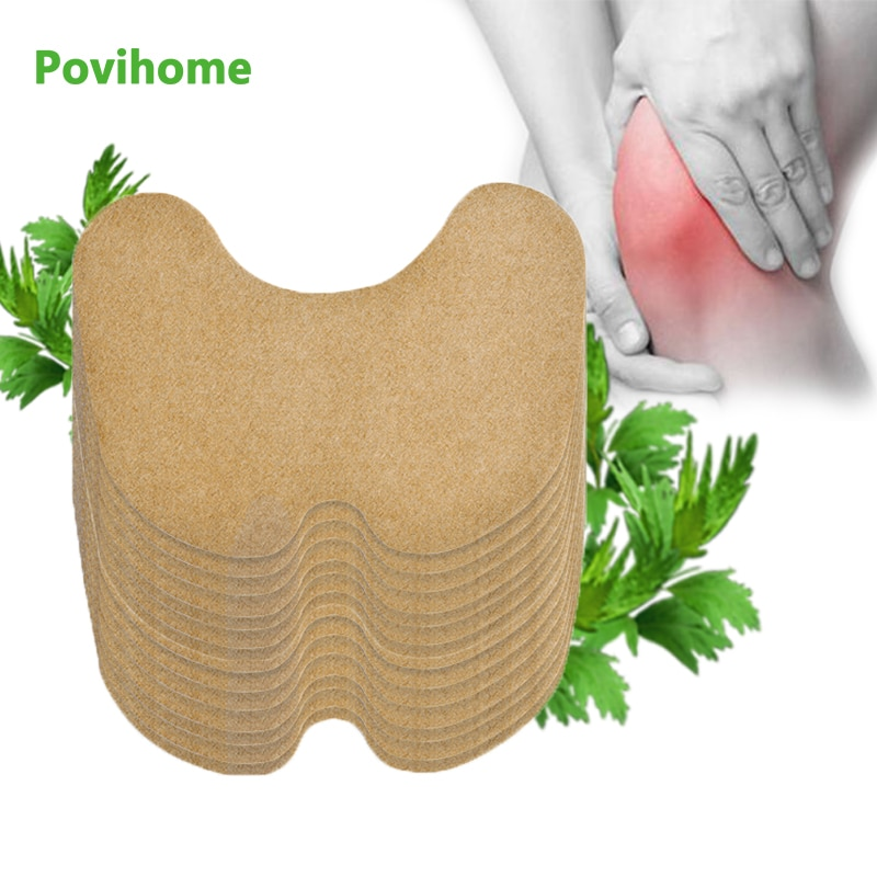6pcs Knee joint Pain Plaster Chinese Wormwood Extract Sticker for Joint Ache Arthritis Rheumatoid Pain Relief Patch Health Care