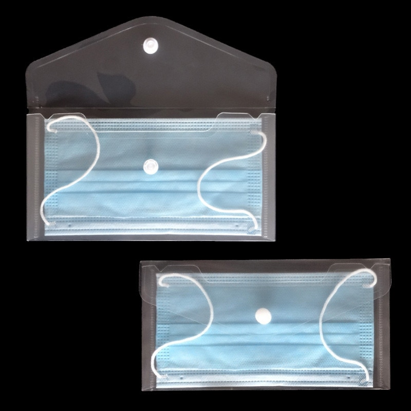 AliExpress - Portable Face Masks Organizer Mask Storage Case Mask Storage Clip Holder Mask Storage Box Dustproof Waterproof Mask Organizer