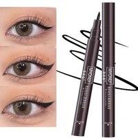 waterproof eyeliner pen black liquid eyeliner long long lasting non blooming quick dry eye liner eye makeup cosmetic 1pc