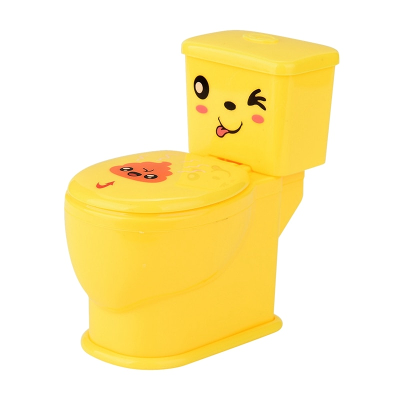 Mini Prank Squirt Spray Water Toilet Tricky Toilet Seat Funny Gifts Jokes Toys Anti-Stress Gags Joke Toy For Kids Funny Play Gam недорого