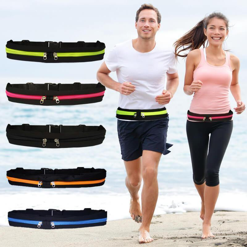 Уличная спортивная сумка для спортзала, Спортивная поясная сумка для мужчин и женщин, для бега, фитнеса, велоспорта, водонепроницаемая, женс...