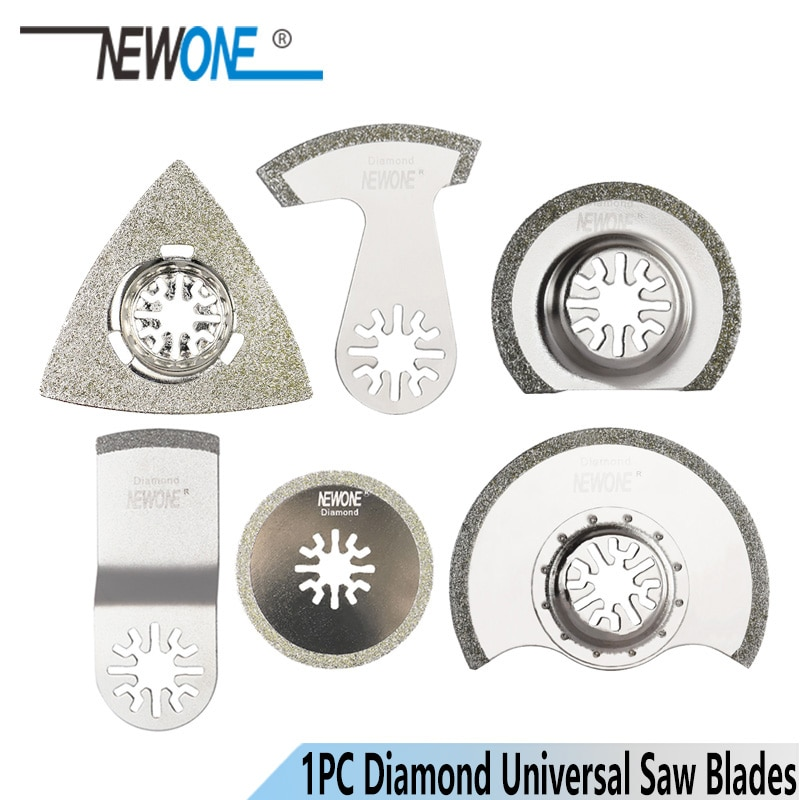 Newone diamante oscilante multi-ferramenta lâmina de serra renovador lâminas de serra para corte tial concret apto para makita, aeg, fein