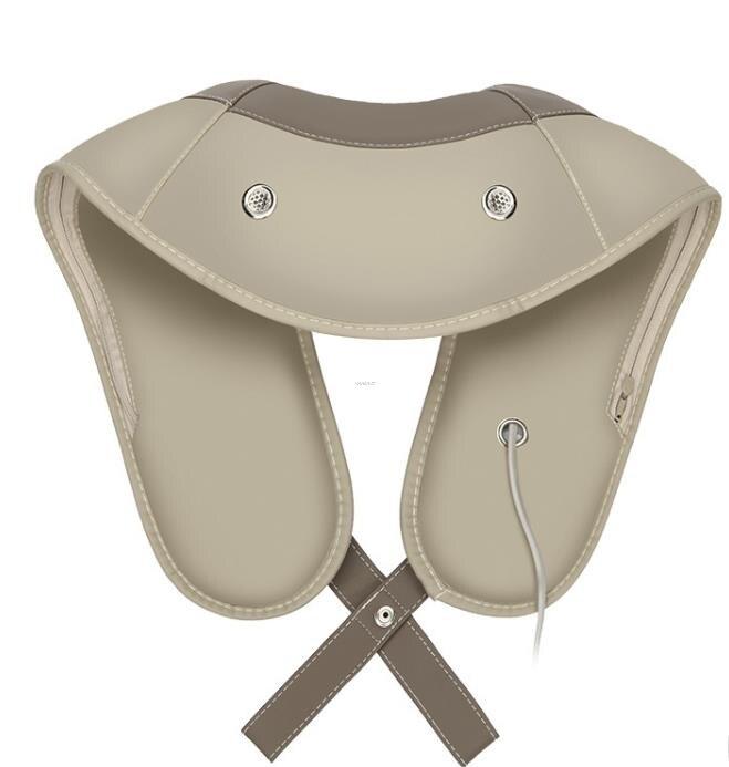 Massagem elétrica portátil no pescoço cervical massageador cape dor no pescoço e nos ombros massagem multifuncional