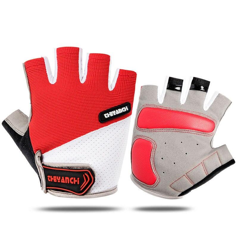 Guantes antideslizantes de medio dedo Para ciclismo de montaña, Para hombre, Accesorios...