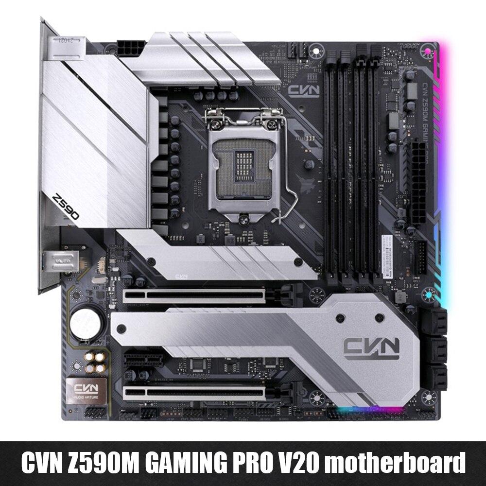 Colorful Motherboard CVN Z590M GAMING PRO V20 128GB PC-E x16 x4 SATA3.0 M.2 SSD Motherboard for 11600K/11700K/11900K