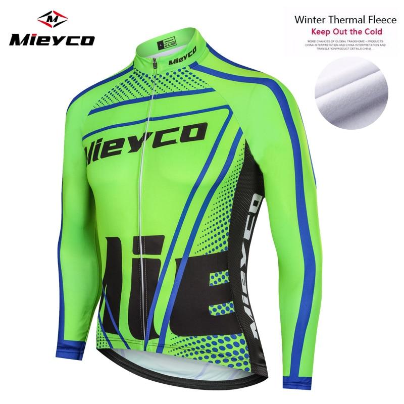 Mieyco-Maillot de manga larga para Ciclismo profesional, Ropa térmica para bicicleta de...