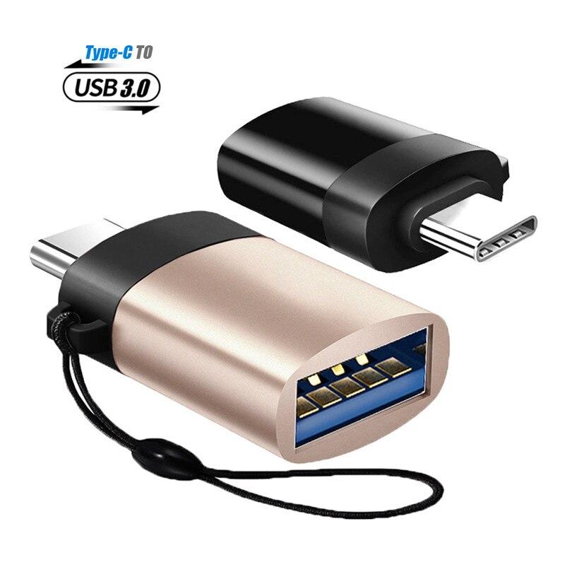 Type-C OTG Adapter USB 3.0 to Type C Micro USB OTG Converters USB C USB-C Tape C Tape-C OTG for Samsung Huawei LG Xiaomi Tablet