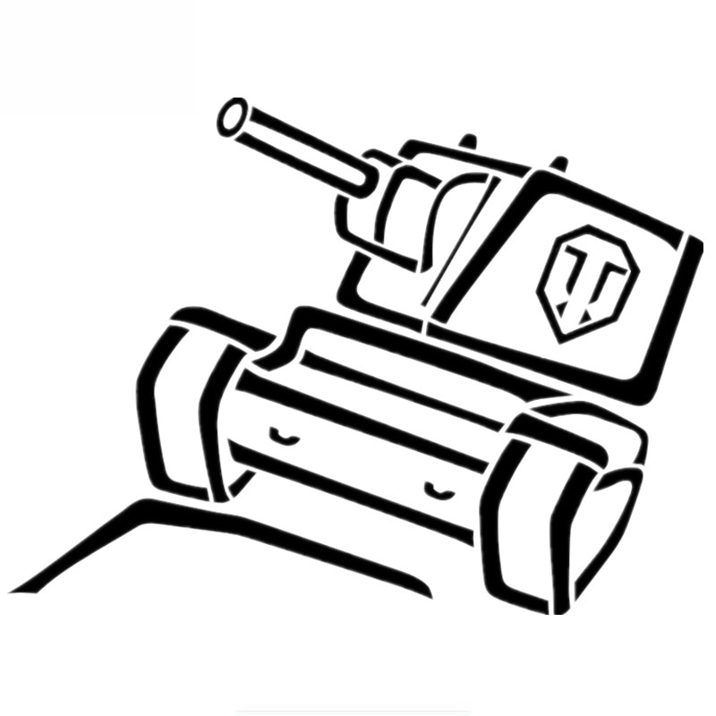 Цистерны Стикеры стайлинга автомобилей Виниловая наклейка для окна автомобиля крышка царапины Водонепроницаемый ПВХ 13 см x 10 см