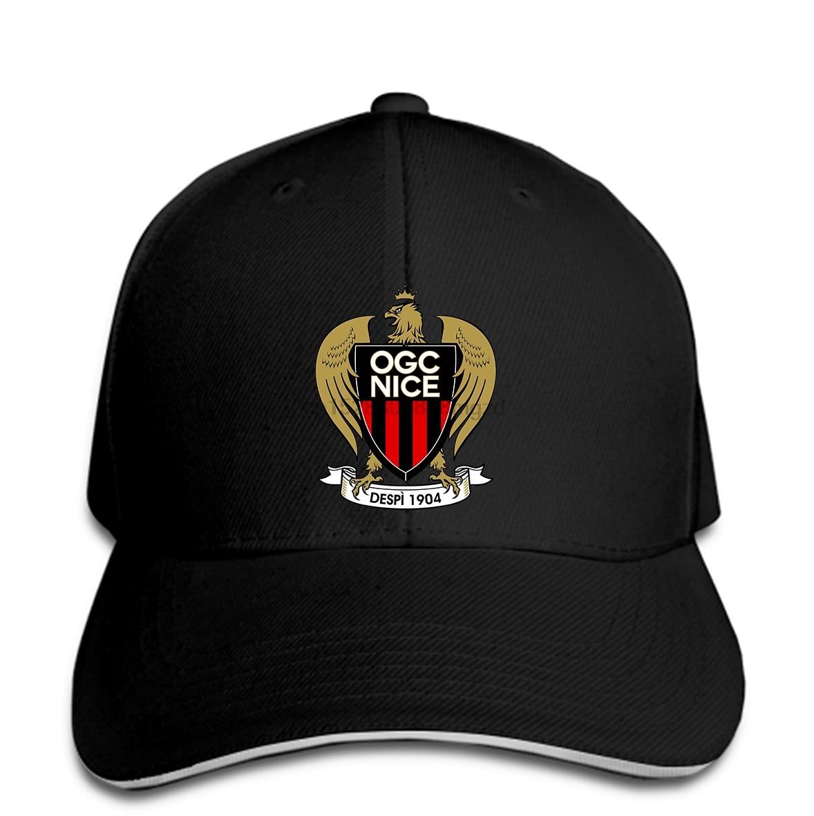 OGC Nice Les aiglon Francia Ligue fútbol hombres gorra de béisbol equipo gorra deportiva con Cierre trasero mujeres sombrero pico