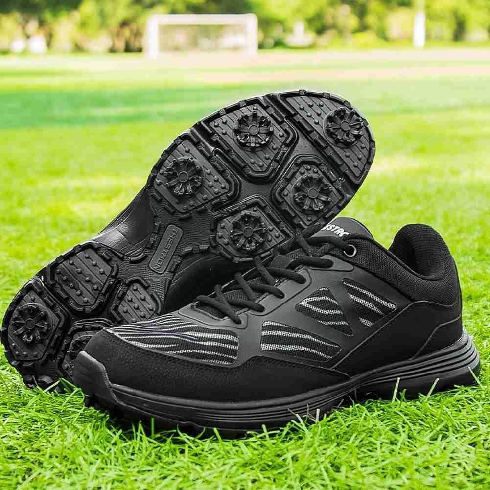 Classic Golf Shoe Men Tour Golf Shoes Breathable Mesh Man Walking Sneakers...
