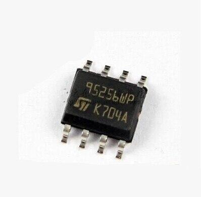 ST M95256WP   8 pieds, 95256WP 95128, pour BMW FEM/BDC, Instrument mesure, puce IC mémoire, 95128WP
