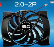 Dorigine GT630 GT240 9800GT 9600GT GT220 GT430440 carte graphique ventilateur ventilateur de radiateur