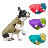 winter warm dog clothes waterproof dog vest warm coat dog apparel for cold weather dog jacket for small medium large dogs