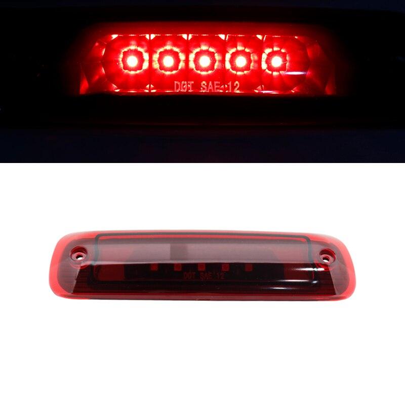 Conjunto de luces traseras Led para Jeep Cherokee XJ 1997-2001, luces traseras para Luz trasera de freno de coche, tercera luz de freno