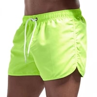 mens casual sports training running bodybuilding fitness shorts gym pants swimming trunks summer beach sexy quick dry clothing