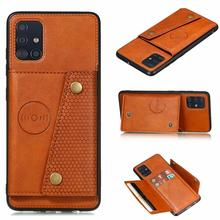 Luxury Shockproof Magnetic Flip Leather Wallet Case For Samsung Galaxy A31 A 31 Funda With Card Slot
