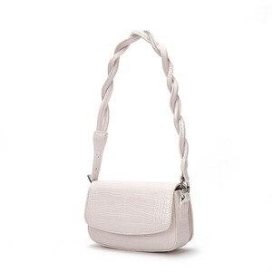 Shoulder bag fashion ladies handbags bolsos bandolera blank white sublimation pu shoulder bag