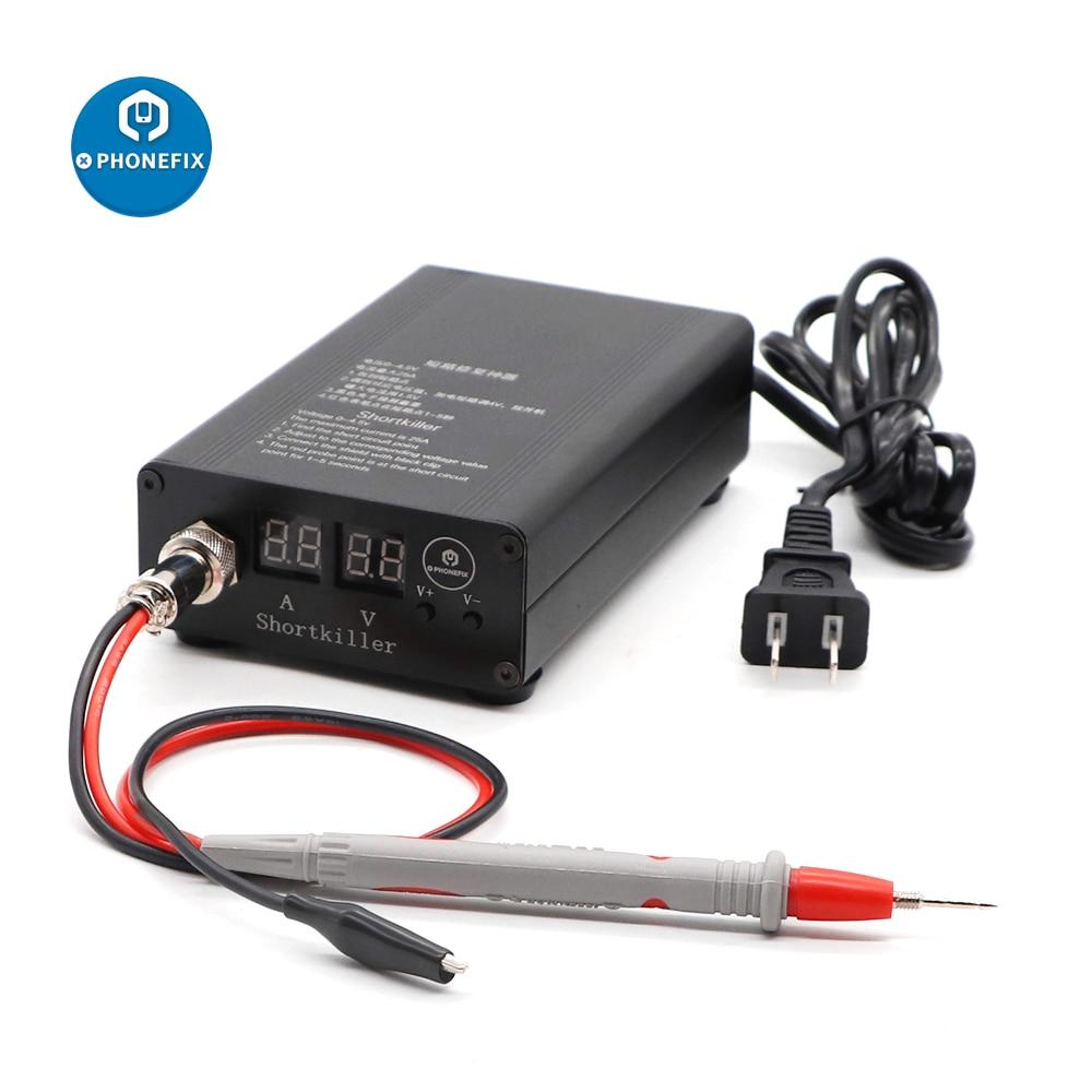 PHONEFIX Short Killer Mobile Phone Short Circuit Repair Tool Box for Motherboard Short Circuit Burning Repair Tool Kit