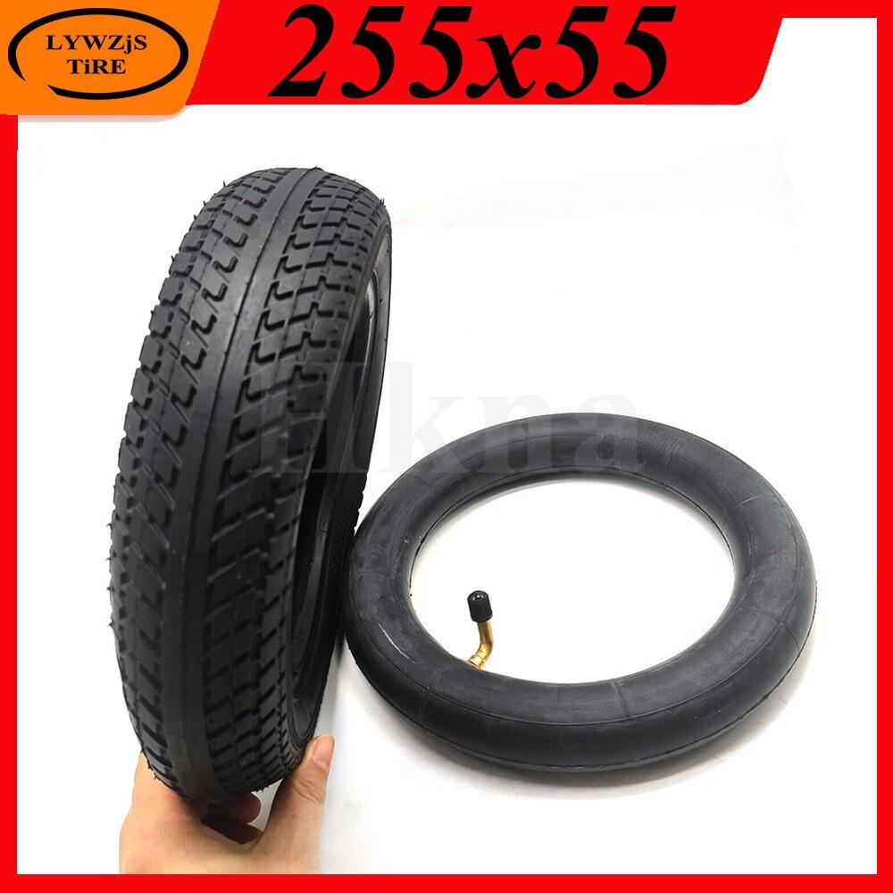 255x55 pneu interno e externo para o triciclo do bebê das crianças peças 10 Polegada pneu de roda inflável