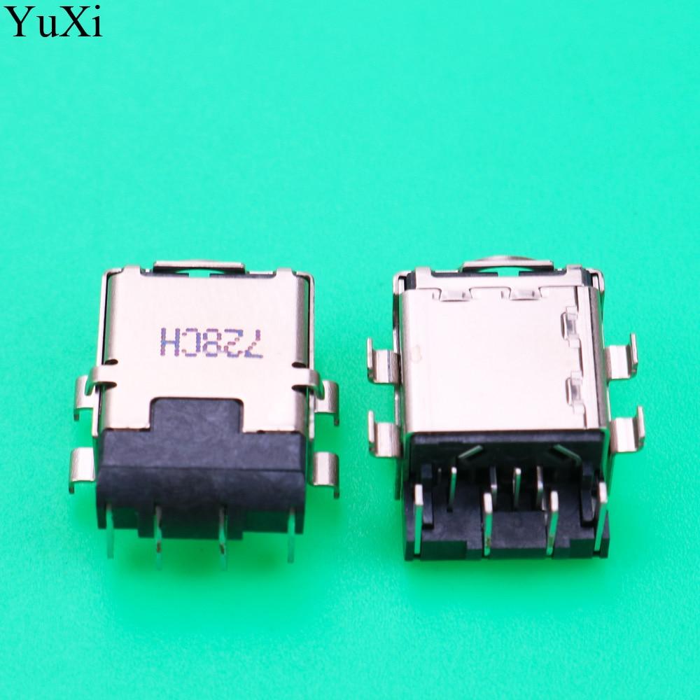 YuXi nuevo portátil DC Jack enchufe de alimentación puerto de conector de carga para ASUS para la interfaz de alimentación de la computadora Foxconn