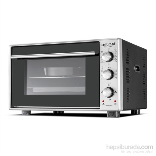 İtimat Timerli Thermostat Oven Staninless