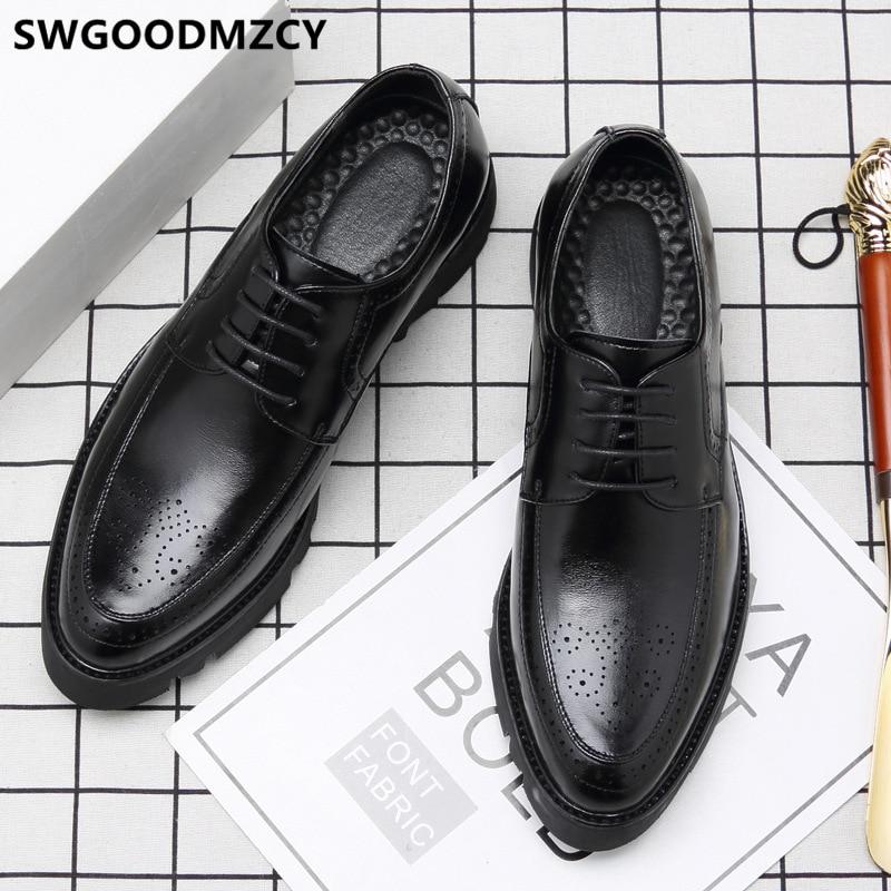 Zapatos italianos para Hombre, calzado Formal, Oxford