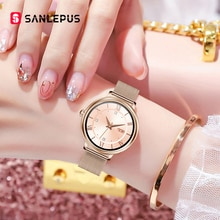 SANLEPUS 2021 NEW Fashion Women's Smart Watch Luxurious Smartwatch For Android Apple, Christmas Gift