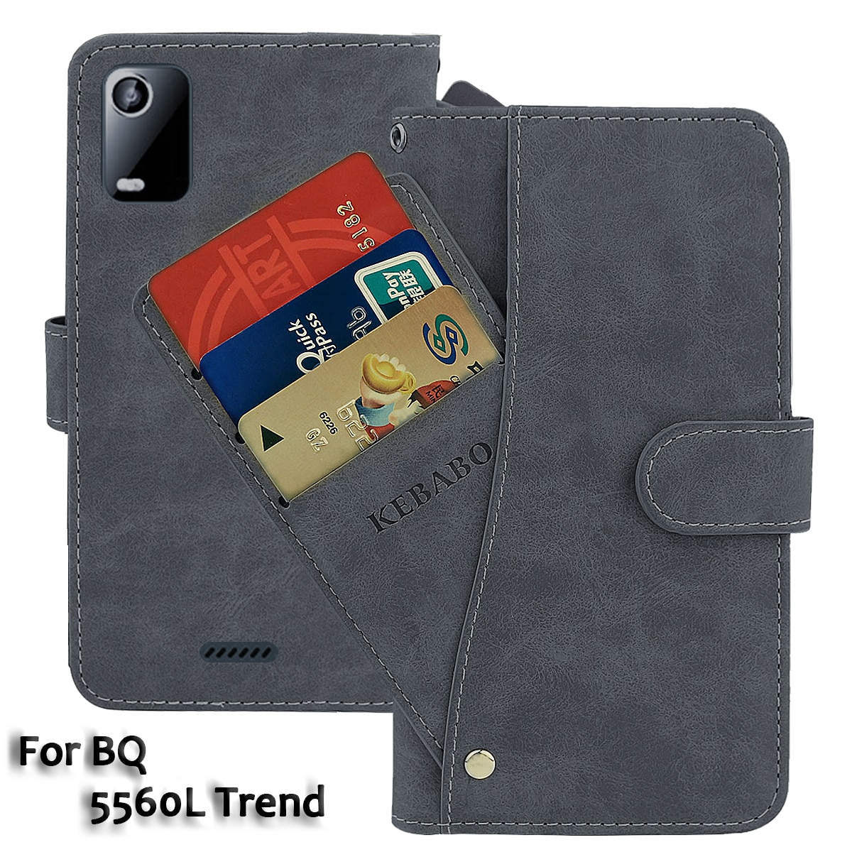 Leather Wallet BQ 5560L Trend Case 5.45