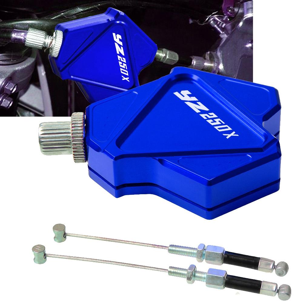 De aluminio CNC doble palanca de embrague Easy Pull sistema de Cable para yamaha yz250x yz 250x2013x2014, 2015, 2016 2017, 2018, 2019,