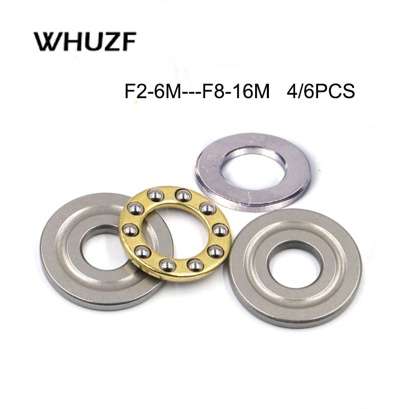 5/10Pcs F2-6M F 2,5-6M F3-6M F3-7M F3-8M F4-9M F5-10M F5-11M F5-12M F6-12M F6-14M F7-13M f7-15M F8-16M Axial Ball Schub Lager