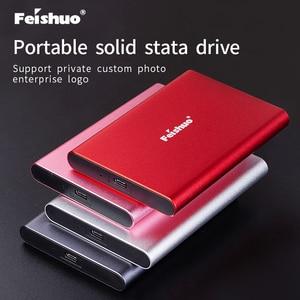 Личный внешний жесткий диск SSD 120 ГБ SSD 500 Гб портативный SSD Внешний жесткий диск для ноутбука с Type C USB 3,1