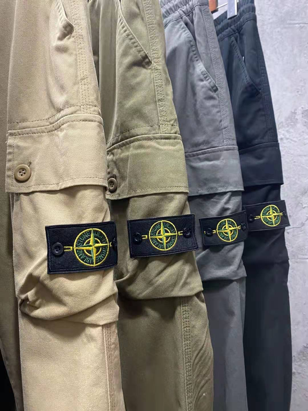 2021 new Stone Island early spring new Stone Island stone island beam foot functional overalls camou