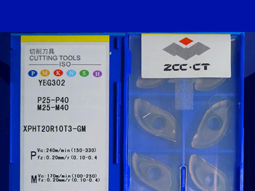 XPHT20R10T3-GM YBG302 caribde إدراج 10 قطعة
