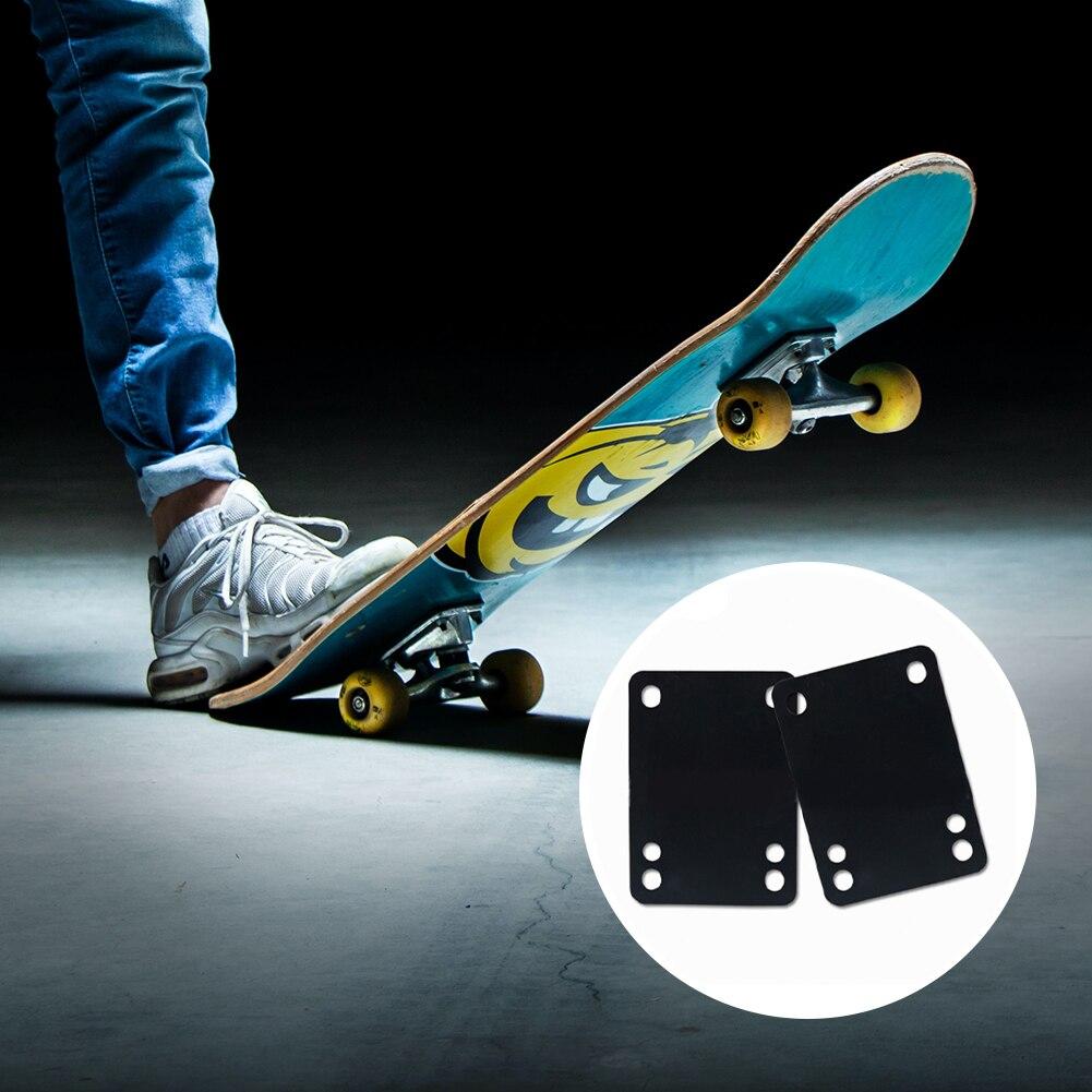2 шт./компл. скейтборд Лонгборд ПУ подставки амортизирующие подставки для скейтборда грузовика стандартные подставки высота 3 мм Увеличение...