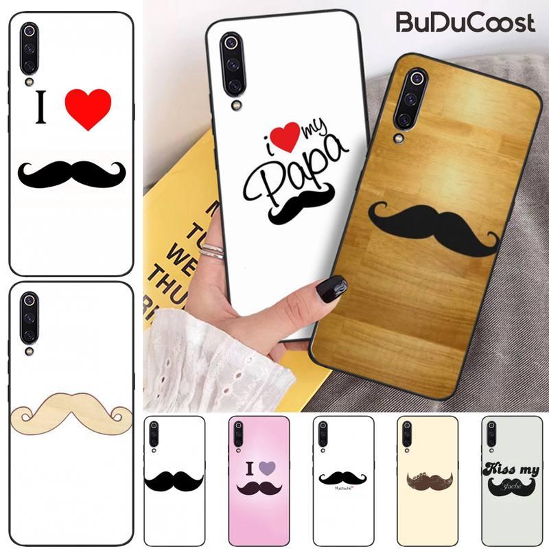 CUCI Touch Moustache Custom Photo Soft Phone Case for xiaomi mi 8 9 8SE 9SE 8Lite mix2 2S max2 3 Pocophone F1