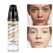 Nouvelle Lotion disolement mixte remplir les Pores éclaircissant la peau Base dapprêt maquillage correcteur liquide recommander